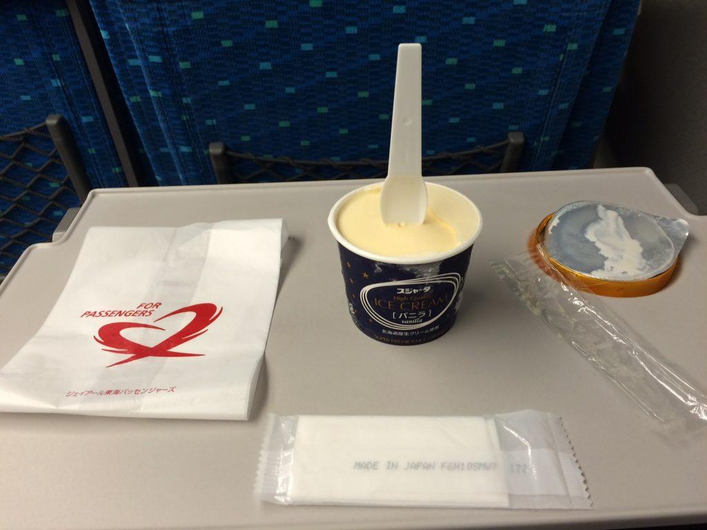 新幹線アイスクリーム